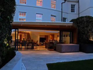 Tolmers Park Nowoczesne domy od Nicolas Tye Architects Nowoczesny