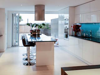 Interior House Remodelling, London E14 Nic Antony Architects Ltd Dapur Modern