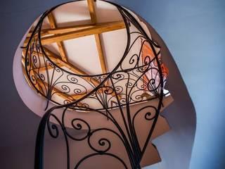 Escalier en colimaçon :  de style  par Alexandre Lorig SARL