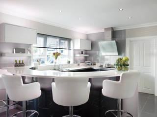 Glass Splashbacks in Kitchens Moderne Küchen von DIYSPLASHBACKS Modern