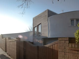 The Camberwell Curve Casas modernas de Nic Antony Architects Ltd Moderno