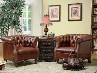 Design Your Home with an Attractive Leather Armchair Locus Habitat Living roomSofas & armchairs
