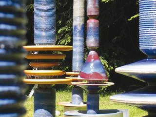 Moderne Wasserobjekte: moderner Garten von Keramikhof Ulrich Witzmann