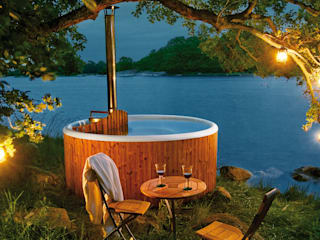 de estilo  por Skargards Hot Tubs Deutschland, Escandinavo