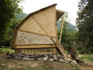 Summerhouse Modern garage/shed by Mill & Jones Modern