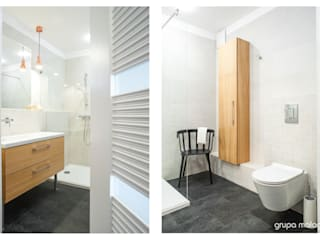 MIESZKANIE W GDYNI Klasyczna łazienka od GRUPA MALAGA Klasyczny