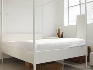Zona letto PRIMA:  in stile  di Puglia Home Staging