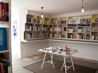 Golden Hare Books Modern commercial spaces by Mill & Jones Modern