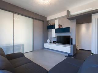Salas de estar modernas por Fabrizio De Rosa Architetto Moderno