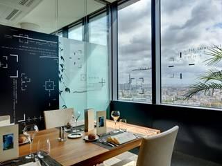 BUREAUX DE DIRECTION Espaces commerciaux modernes par ID CHRISTOPHE DAUDRE Moderne