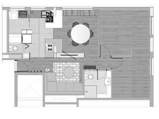 Interior | Apartamento - III por ARQdonini Arquitetos Associados