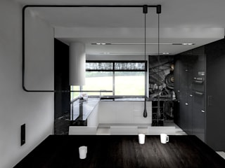 I_025: styl , w kategorii Kuchnia zaprojektowany przez SNCE Studio,