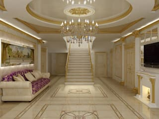 Цунёв_Дизайн. Студия интерьерных решений. Koridor & Tangga Klasik