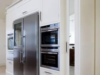 Walnut and Ivory Kitchen Banbridge Eclectic style kitchen by Designer Kitchen by Morgan Eclectic