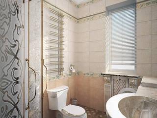 Гостевая ванная - дом в классическом стиле Ванная в классическом стиле от Myroslav Levsky Классический