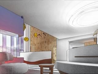 Hotel Val Gardena: Hotel in stile  di UGAssociates