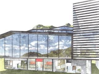 progetto esterni 1: Hotel in stile  di UGAssociates