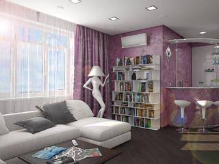дизайн-студия 'КВАДРАТ' Salon moderne