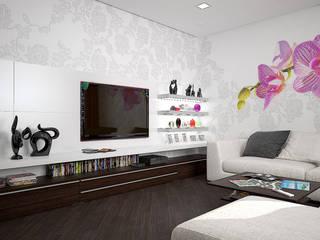 дизайн-студия 'КВАДРАТ' Living room