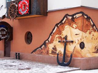 """Кафе """"Веселый Роджер"""" г. Кривой Рог:  в . Автор – дизайн-студия 'КВАДРАТ'"""