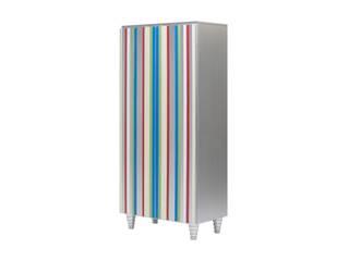 Armario piano plata con sintonia de colores.:  de estilo  de Almacenimport.com