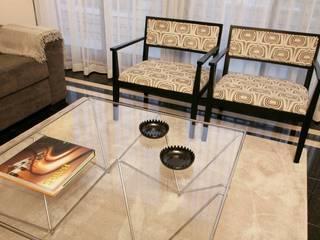 Apartamento c/ 1 quarto - Praça da Espanha, Lisboa Salas de estar modernas por Traço Magenta - Design de Interiores Moderno