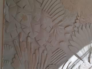 proceso de esculpido:  de estilo  de FUENTEDECOR