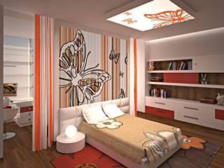 Интерьер детской комнаты: Детские комнаты в . Автор – KARYADESIGN architecture studio, Скандинавский