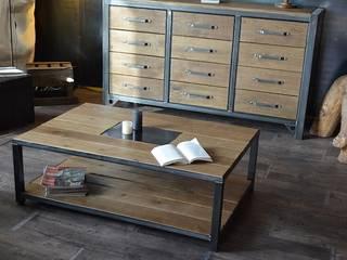 Nos tables basses de style industriel par MICHELI Design