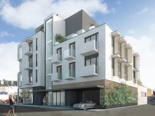 CGI of side elevation:   by 3s architects and designers ltd