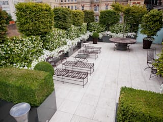 Belgravia Roof Terrace クラシカルな 庭 の Cameron Landscapes and Gardens クラシック