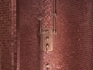 Drummonds Case Study: Urban Retreat Hammam at Harrods Drummonds Bathrooms 地中海風ショッピングセンター