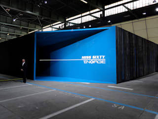 SIXTY BOOTH AT BREAD AND BUTTER, BERLIN JANUARY 2012 Pasquale Mariani Architetto Allestimenti fieristici moderni