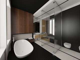 Pasquale Mariani Architetto Modern style bathrooms