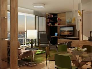 Let's Perdizes | edifício Salas multimídia modernas por ARQdonini Arquitetos Associados Moderno