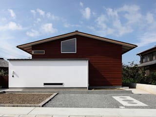 Skandinavische Häuser von haco建築設計事務所 Skandinavisch
