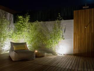 Rustic style garden by MUDA Home Design Rustic