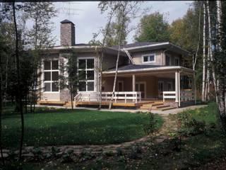 Дом из клеёного бруса: Дома в . Автор – Хандсвел