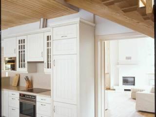 Дом из клёного бруса: Кухни в . Автор – Хандсвел