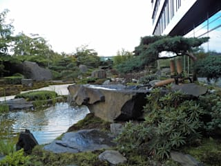 Kokeniwa Japanische Gartengestaltung Edificios de oficinas