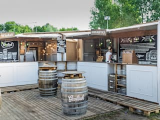 Grolsch | Brand Activation Lowlands 2014:  Gastronomie door Studio Linda Franse
