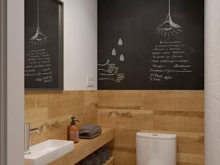 Интерьер OOD: Ванные комнаты в . Автор – INT2architecture,