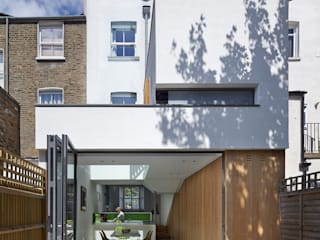Islington House Neil Dusheiko Architects บ้านระเบียง