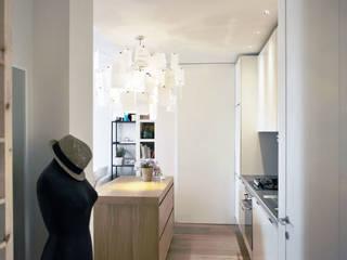 CASA D'ADDA: Cucina in stile in stile Moderno di BACS architettura