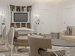 Modern Living Room by pashchak design Modern
