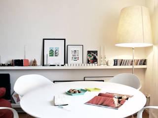 CASA D'ADDA: Sala da pranzo in stile in stile Moderno di BACS architettura