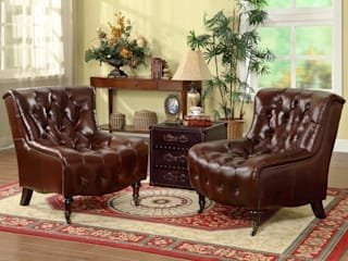 Designing a Vintage Living Room with a Vintage Armchair Locus Habitat Living roomSofas & armchairs
