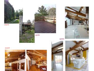 résidence secondaire : loft à la campagne par Modularoom