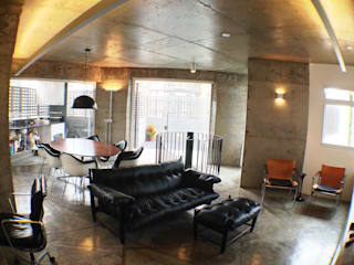 Salon de style  par ODVO Arquitetura e Urbanismo, Moderne