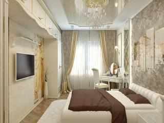 Дизайн спальни в Иваново Спальня в классическом стиле от Цунёв_Дизайн. Студия интерьерных решений. Классический